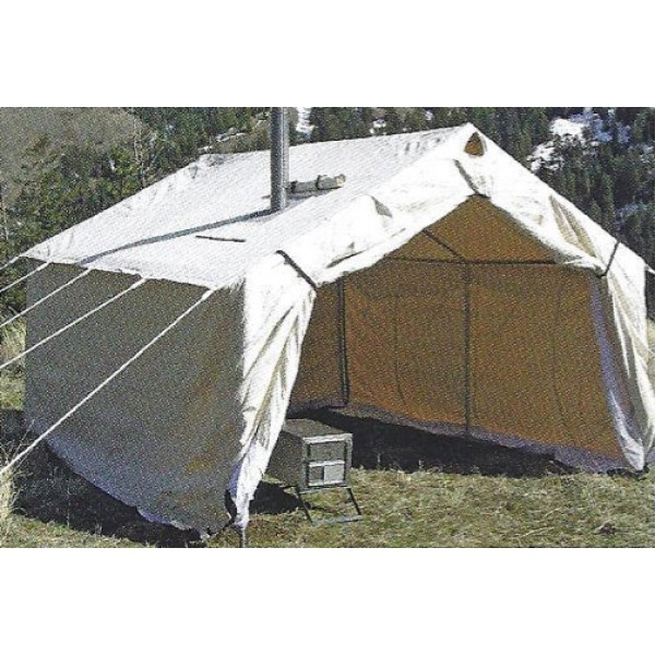 Magnum canvas wall tent 16 39 x20 39 for How to build a canvas tent frame