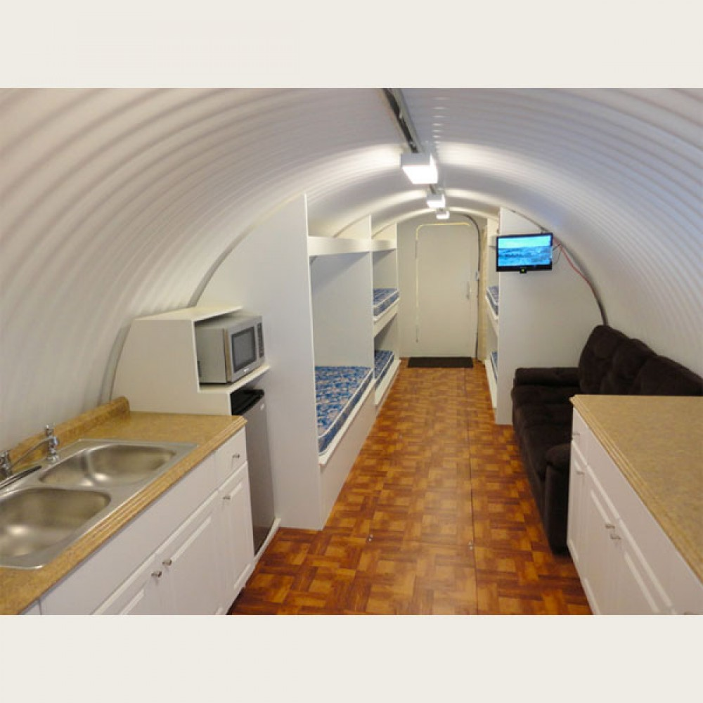 Survival shelters atlas shelters underground steel for Solar panel cost for 1000 sq ft home