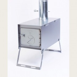 Kni-Co Mfg. Alaskan Camp Stove Standard Pkg.