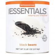Black Turtle Beans, Dried, #10 Can