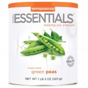 Green Peas, Freeze Dried, #10 Can
