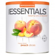 Peach Dices, Freeze Dried, #10 Can