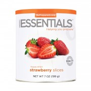 Strawberries Sliced, Freeze Dried, #10 Can