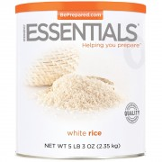 White Rice - 5 lb 3 oz - #10 Can