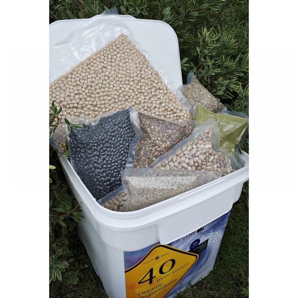 Organic Food Storage ...  sc 1 st  Food Storage Guys & Organic Food Storage | Survive2Thrive 40 day | Food Storage Guys