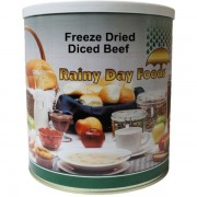 Diced Beef - Freeze Dried  - #10 Can