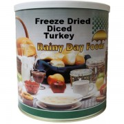 Diced Turkey - Freeze Dried - #10 Can