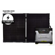 Goal Zero Yeti 1250 Portable Power Station with Boulder 100 Briefcase Solar Panel Kit