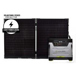 Goal Zero Yeti 1250 Portable Power Station with Boulder 100 Briefcase Solar Panel Kit