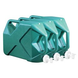 21 Gallon Water Container Kit - 3 Qty