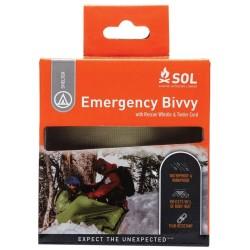 SOL Emergency Sleeping Bag, Bivvy Bag, Blanket - Green