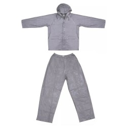 Ultimate Survival Technologies Youth All-Weather Rain Suit Small/Medium, Gray