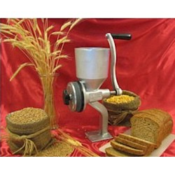 Silver Nugget Hand Operated Stone Flour and Seed Mill