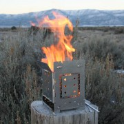 Quick Stove - Folding Firebox Stove