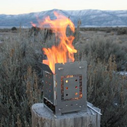 Quick Stove - Folding Firebox Stove