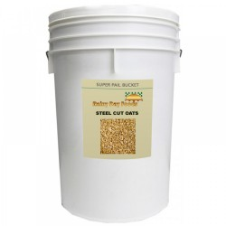 Steel Cut Oats - 33 lb - 5 gal Bucket
