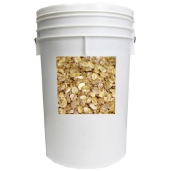 6 Grain Rolled Cereal - 20 lb - 5 gal
