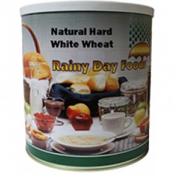 Natural Hard White Wheat - 88 oz - #10 can