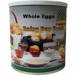 Whole Powdered Eggs 48 oz #10 can 108 Eggs