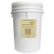 Organic Quick Rolled Oats - 19 lb - 5 gal Bucket