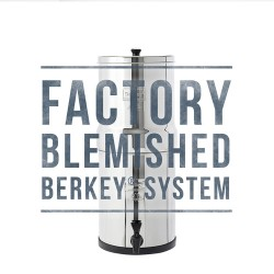 Travel Berkey (1.5 g) Water Filter - Blemished