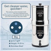 Big Berkey (2.25 g) Water Filter System