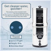 Travel Berkey (1.5 g) Water Filter