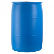 55 Gallon Water Barrel, Blue