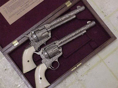 Matching Colt Revolvers